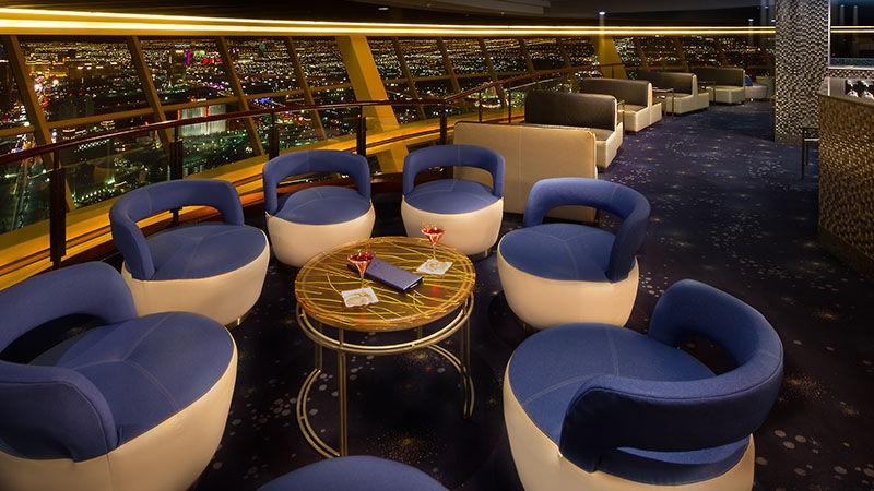 107 SkyLounge, Las Vegas, inside view