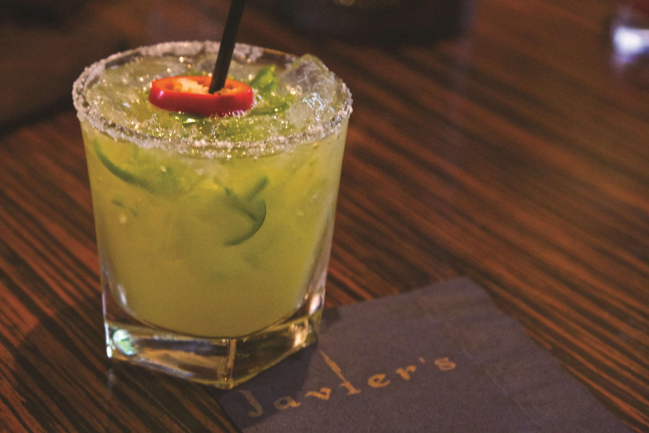 Javier's Las Vegas jalapeno cocktail