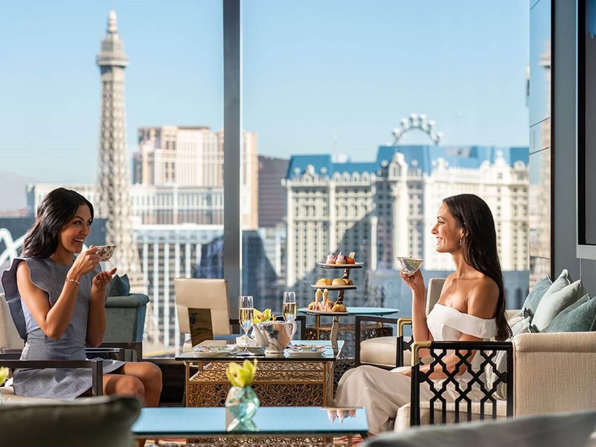 Tea Lounge, Las Vegas restaurant view