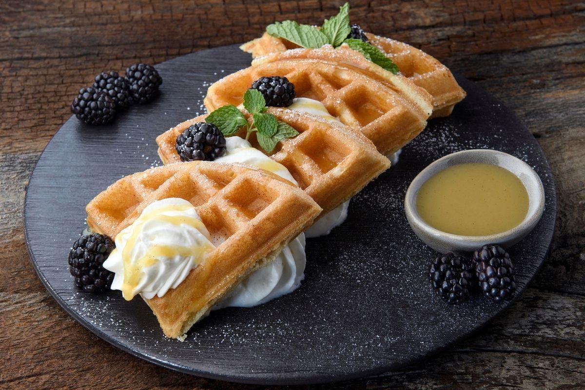 El Dorado Cantina with beautifully made waffles